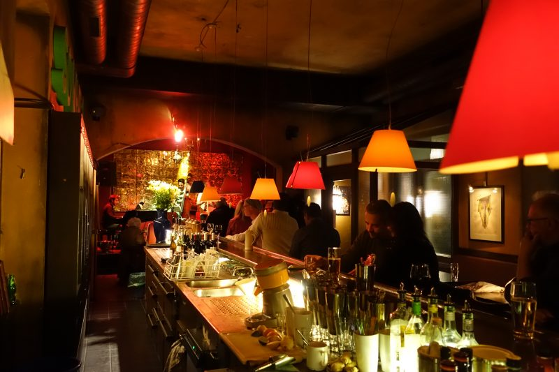 Jazzbar Vogler Bar Gäste November 2017