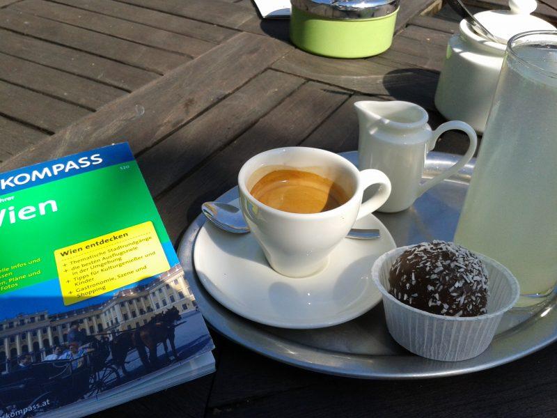 Espresso Pause in Wien